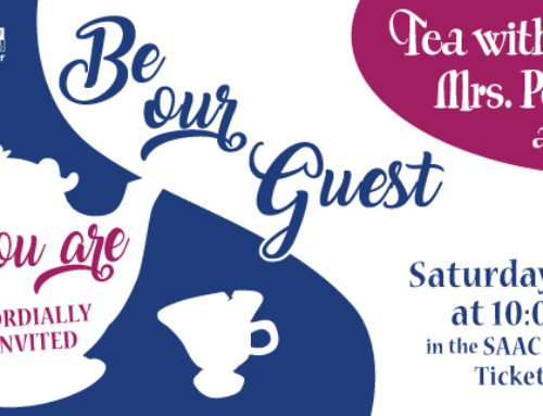 SOLD OUT – Tea Party with Mrs. Potts and Friends • June 3