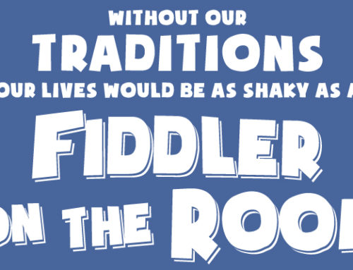 Cast of Fiddler on the Roof JR