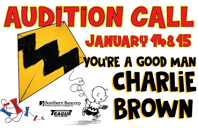 "Auditions for ""You're a Good Man Charlie Brown"""