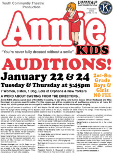 """""""Annie"""" auditions"""
