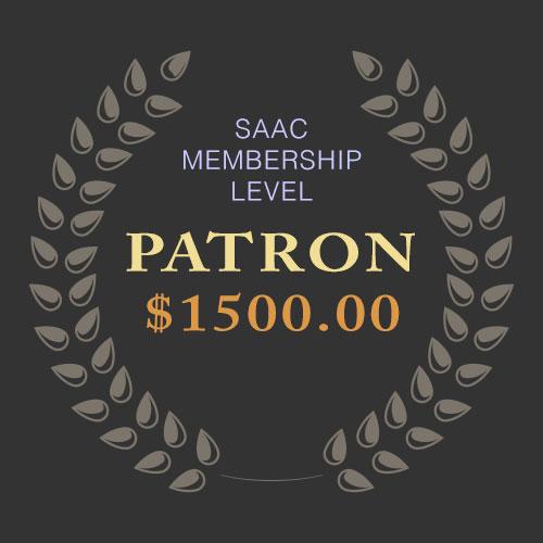 SAAC Membership - Patron Level